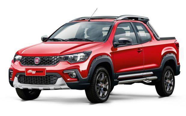nova-fiat-strada-1-e1549150561420 Fiat Strada X Volkswagen Saveiro X Chevrolet Montana - Qual Melhor? Preços 2019